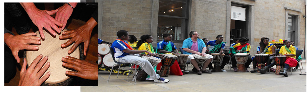West African Development,  Drumming and Dancing Club